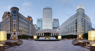A picture of Canary Wharf
