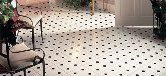 Beautiful vinyl floor