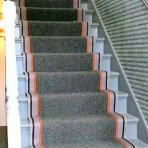 Bespoke Carpet Stair Runners London Supply Fit