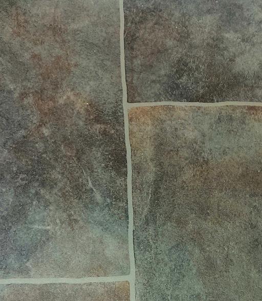 Roman Villa Stone Effect Vinyl | Floor tile effect vinyl | Cavendish ...